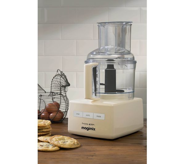Buy magimix blendermix 4200xl food processor cream for Cuisine 4100 magimix