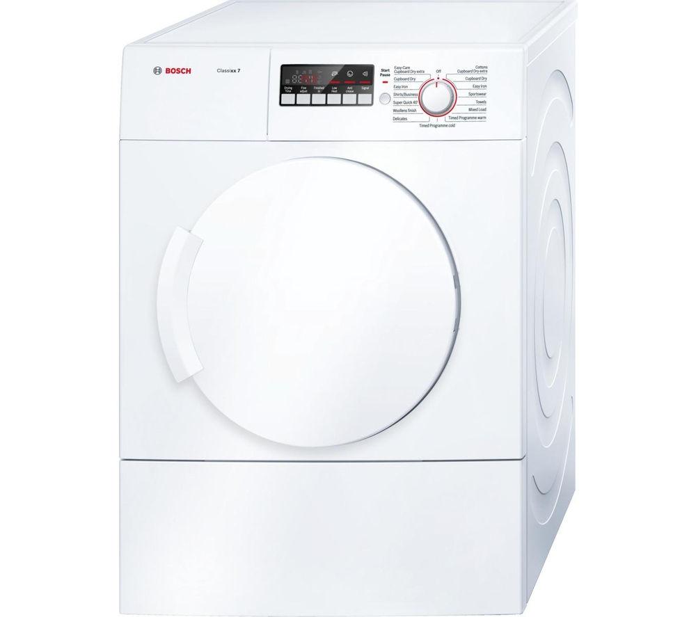 BOSCH Classixx 7 WTA74200GB Vented Tumble Dryer - White
