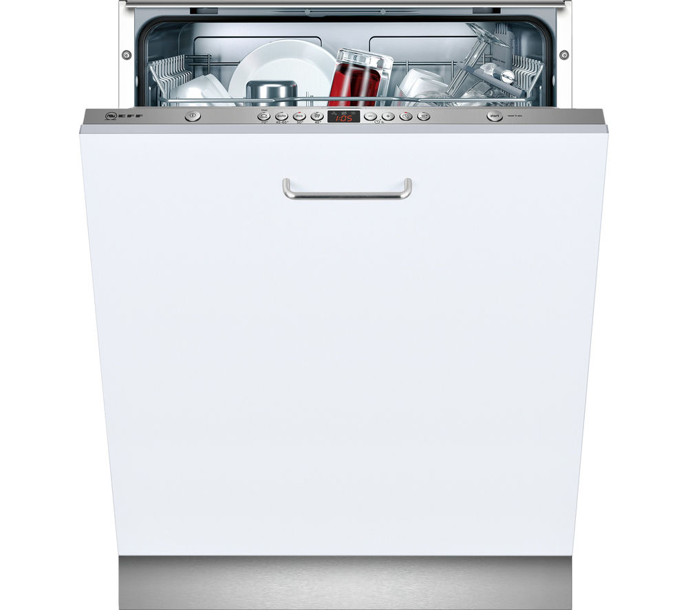 NEFF  S51L43X0GB Full-size Integrated Dishwasher +  W5420X1GB Integrated Washing Machine