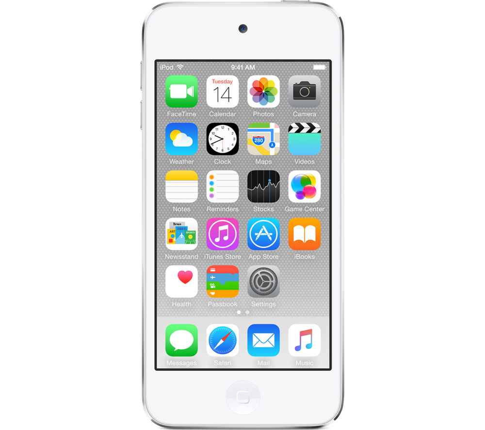 APPLE iPod touch - 64 GB, 6th Generation, White & Silver