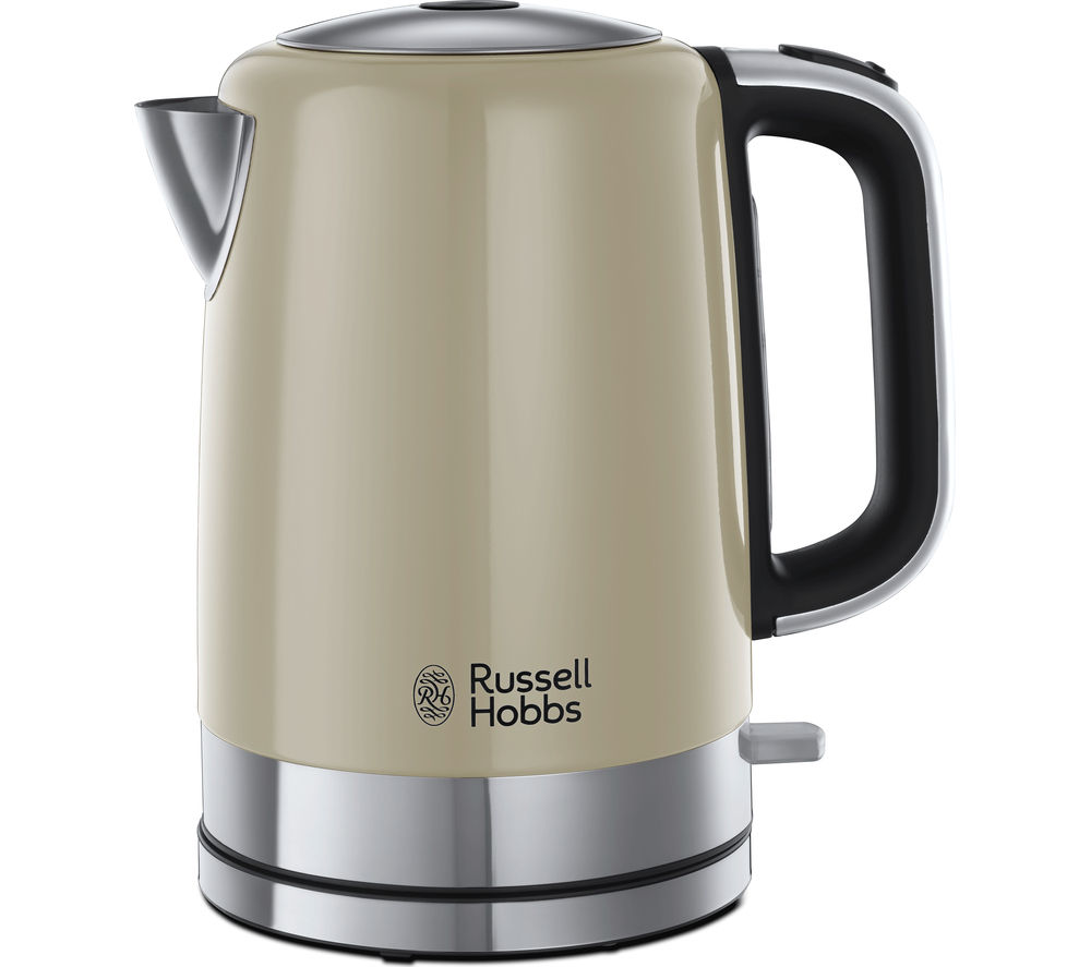 RUSSELL HOBBS  Windsor 22820 Jug Kettle  Cream Cream