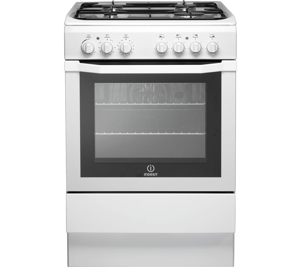 INDESIT  I6GG1W 60 cm Gas Cooker  White White