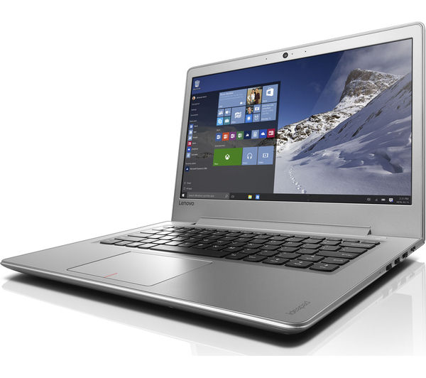 "Image of LENOVO IdeaPad 510S 14"" Laptop - Silver"