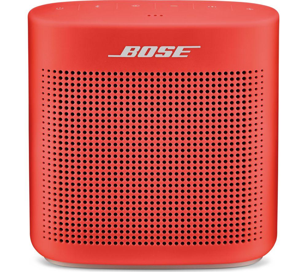 BOSE Soundlink Color II Portable Bluetooth Wireless Speaker - Red