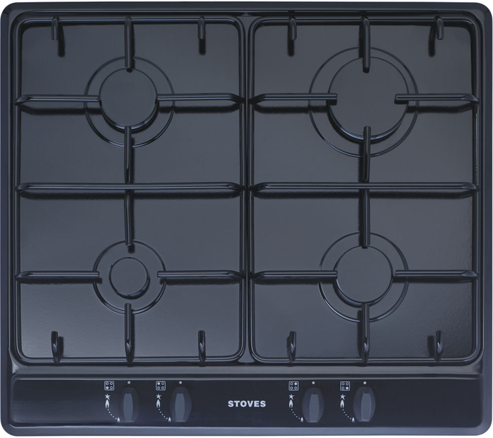 STOVES  SGH600E Gas Hob  Black Black