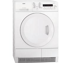 AEG T75280AC Condenser Tumble Dryer - White