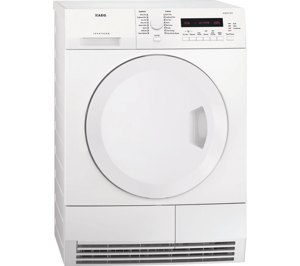 AEG  T75280AC Condenser Tumble Dryer  White White