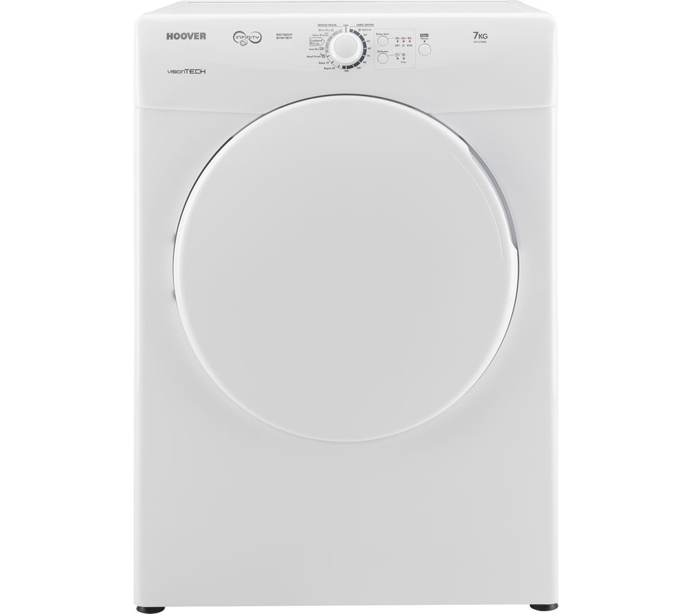 HOOVER  VTV 570NB Vented Tumble Dryer  White White