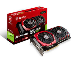 MSI GeForce GTX 1070 GAMING-8G Graphics Card
