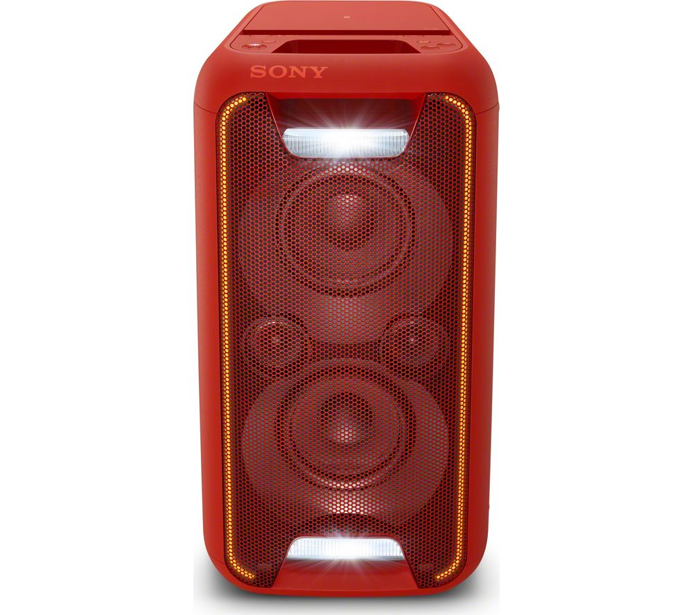 SONY SONY  GTK-XB5R Wireless Megasound Hi-Fi System - Red, Red