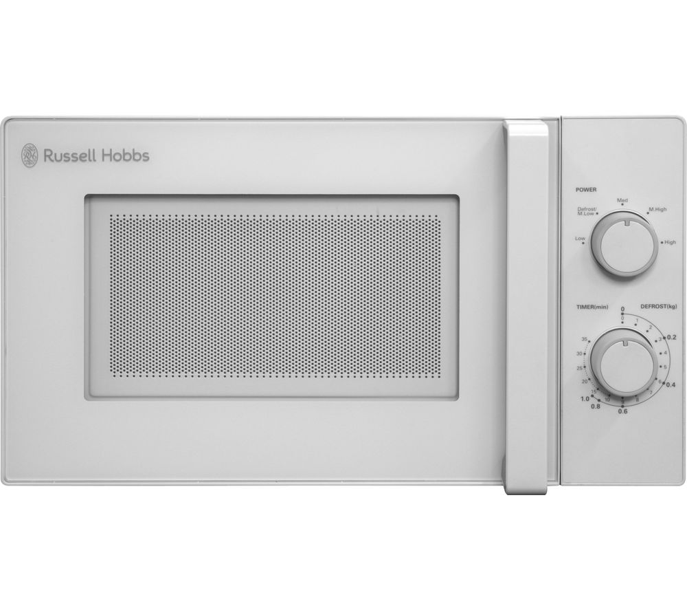 Image of RUSSELL HOBBS RHM2077 Solo Microwave - White, White