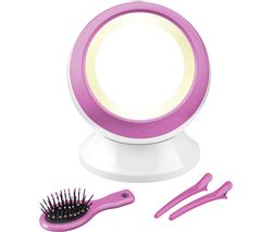 BABYLISS Reflections Illuminated Globe Mirror - Pink