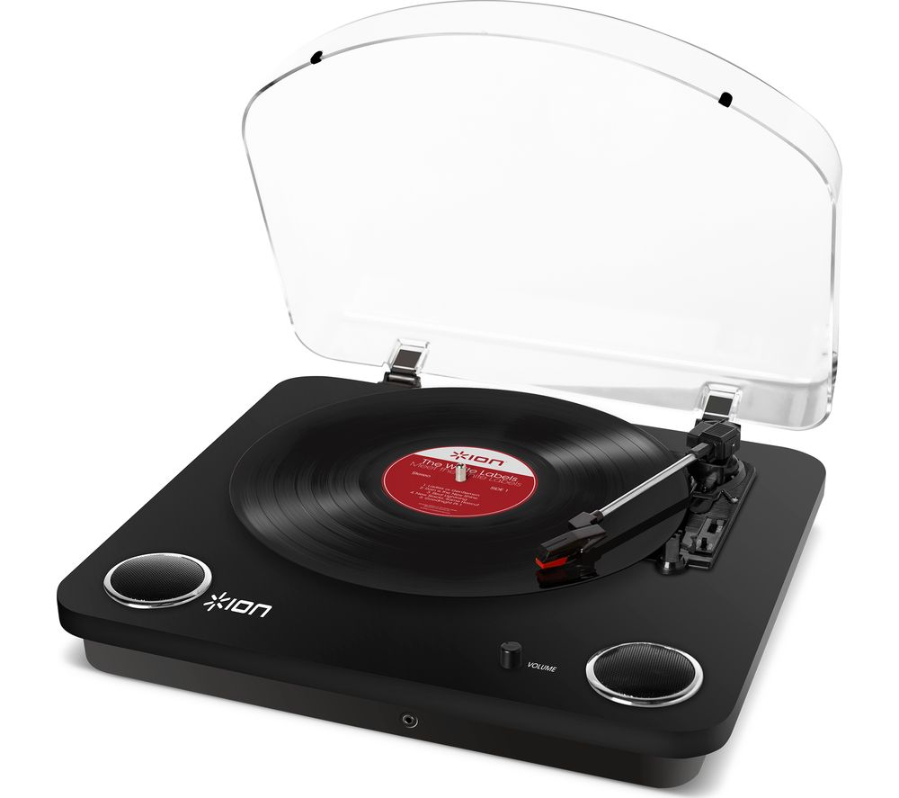 ION Max LP Turntable - Black