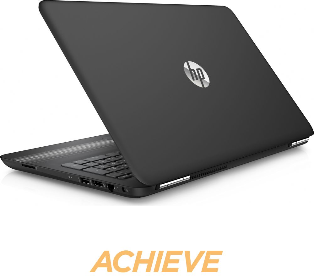 hp pavilion 15 au151sa 15 6 laptop black deals pc world. Black Bedroom Furniture Sets. Home Design Ideas