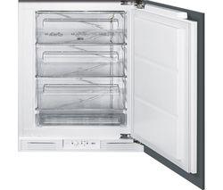 SMEG UKUD7108FSEP Integrated Undercounter Freezer - White