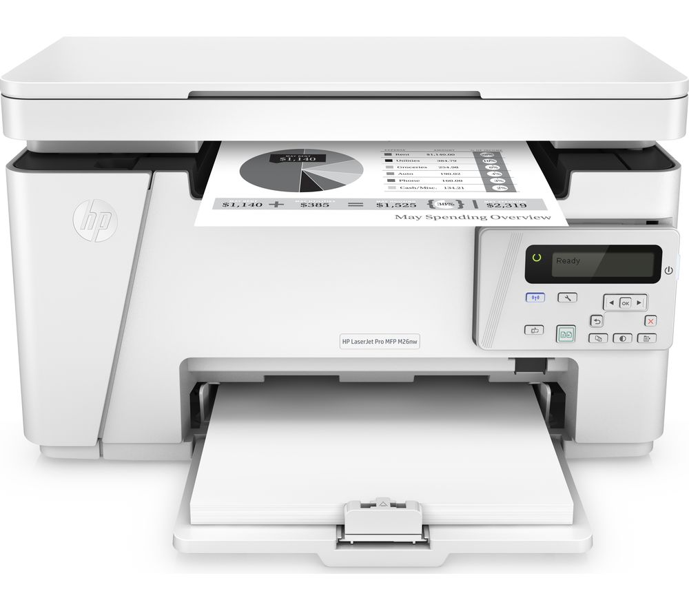 HP LaserJet Pro M26NW Monochrome All-in-One Wireless Laser Printer Review