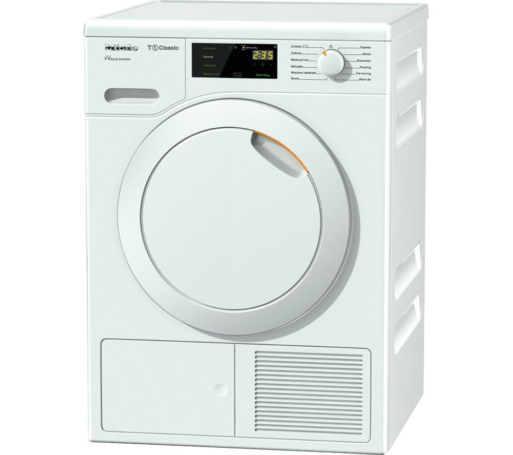 MIELE TDD120WP Heat Pump Tumble Dryer  White White