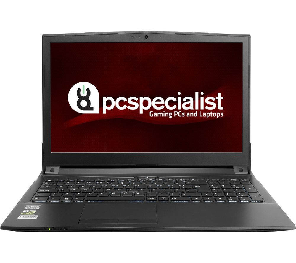 "PC SPECIALIST Optimus VIII RS15-X 15.6"" Gaming Laptop - Black + Office 365 Personal + LiveSafe Unlimited 2017 - 1 year"