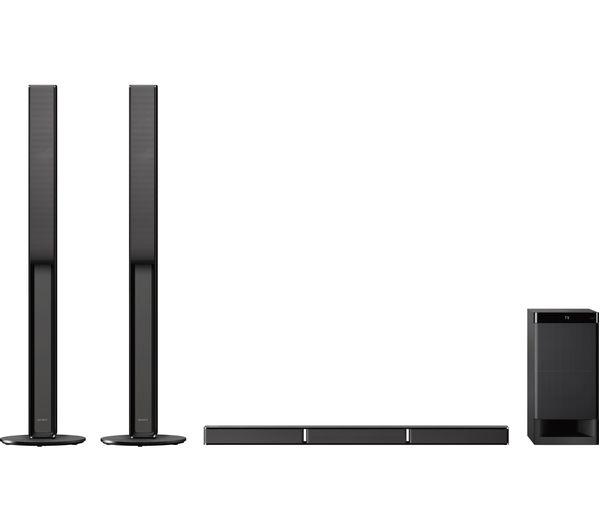 sony ht rt4 5 1 home cinema system deals pc world. Black Bedroom Furniture Sets. Home Design Ideas