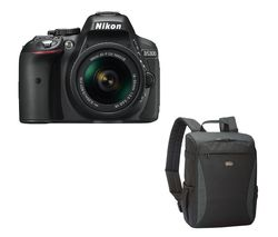 NIKON D5300 DSLR Camera with 18-55 mm f/3.5-5.6 Zoom Lens