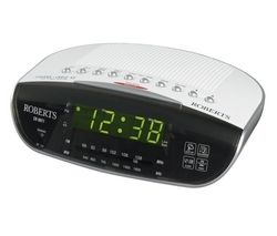 ROBERTS CR9971 Chronologic VI Clock Radio - Silver
