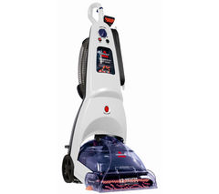 BISSELL Cleanview Deep Clean 18Z7E Upright Carpet Cleaner - White & Purple