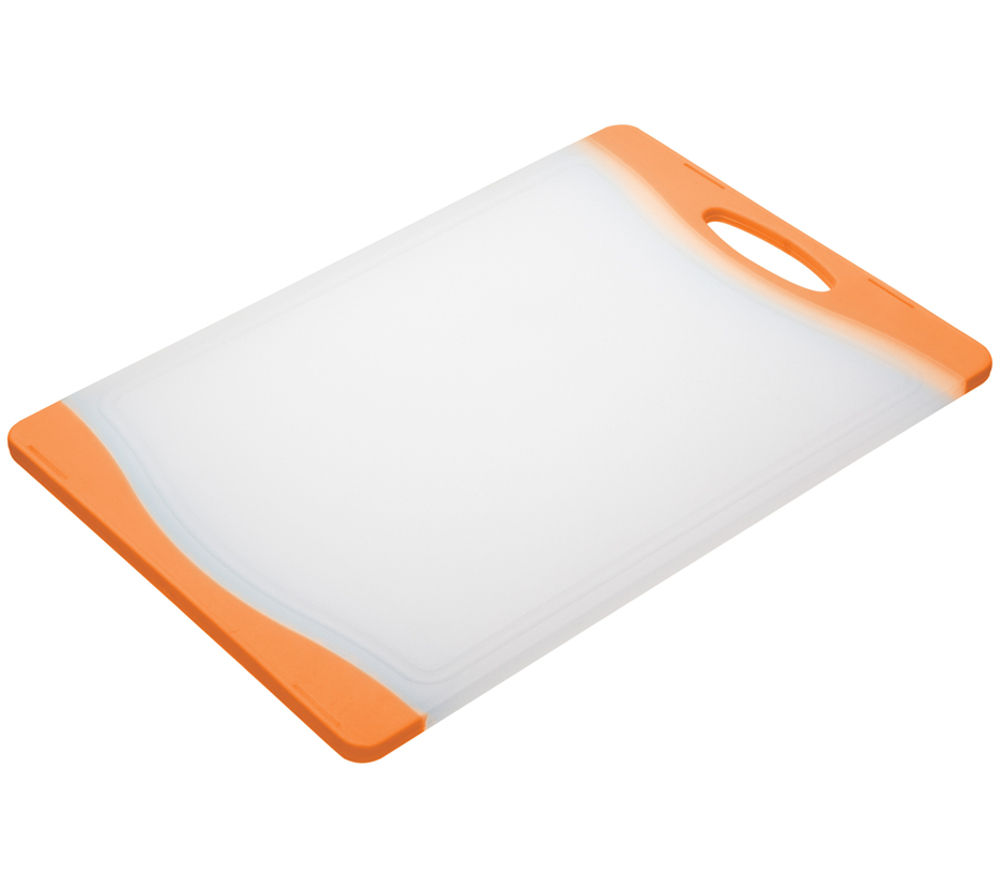COLOURWORKS 35 cm x 24 cm Cutting Board - Orange